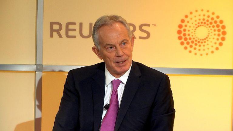 Tony Blair still