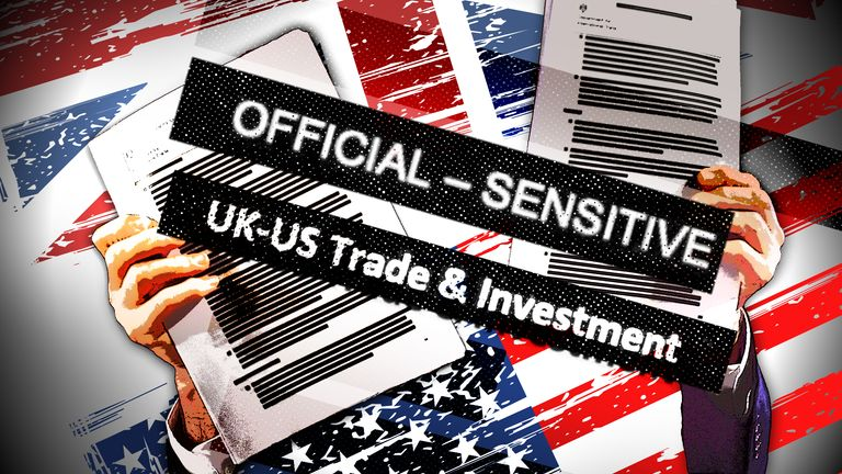 Graphic to go on the explainer about the US-UK trade deal talks