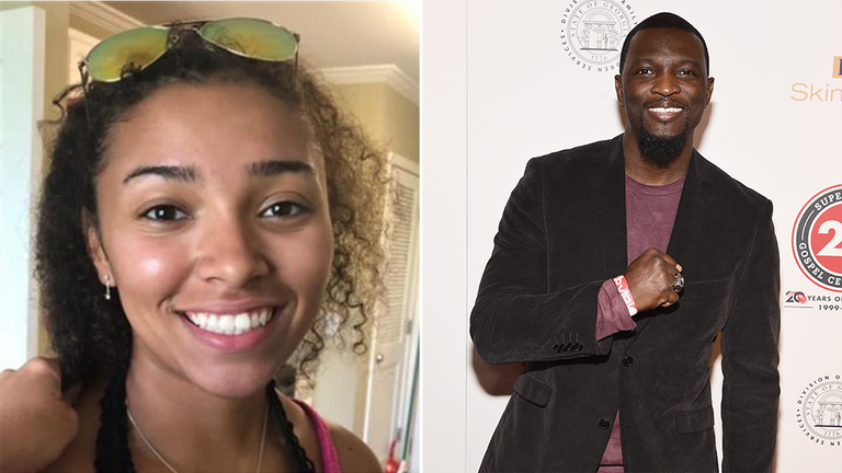 Aniah Blanchard is stepdaughter of UFC fighter Walt Harris. Pic: Auburn Police Department
