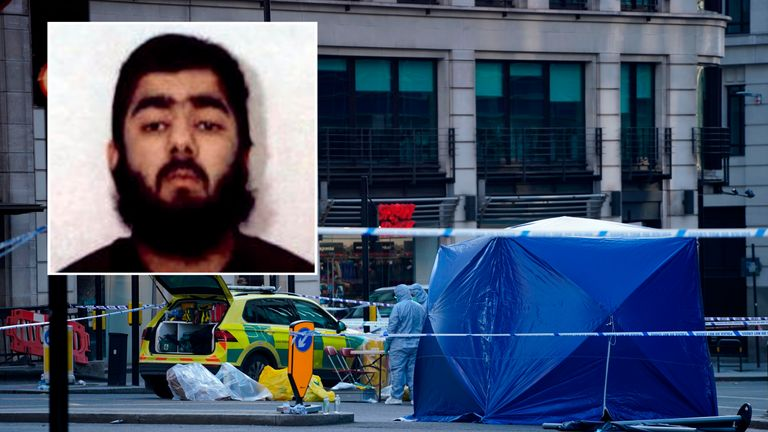 Usman Khan was one of nine members of a terror group that plotted to bomb the London Stock Exchange