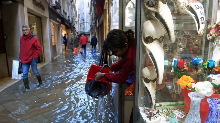 Businesses have been affected by the flooding
