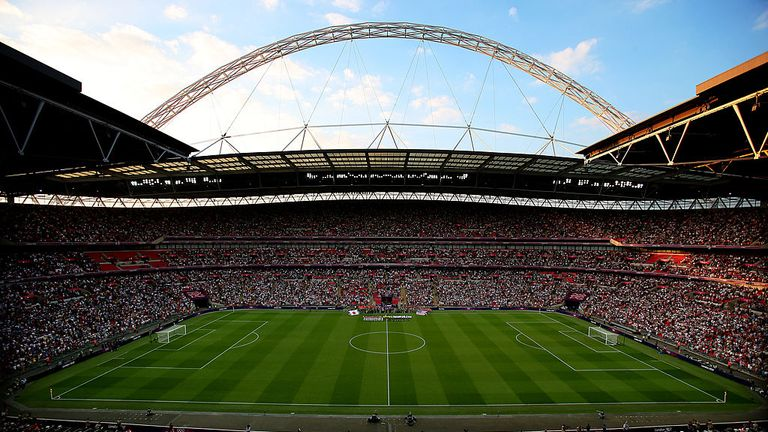 Wembley Stadium will host the semi-finals and finals of Euro 2020