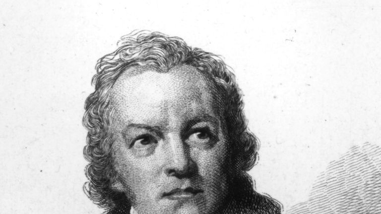 William Blake's talents were only truly recognised after his death