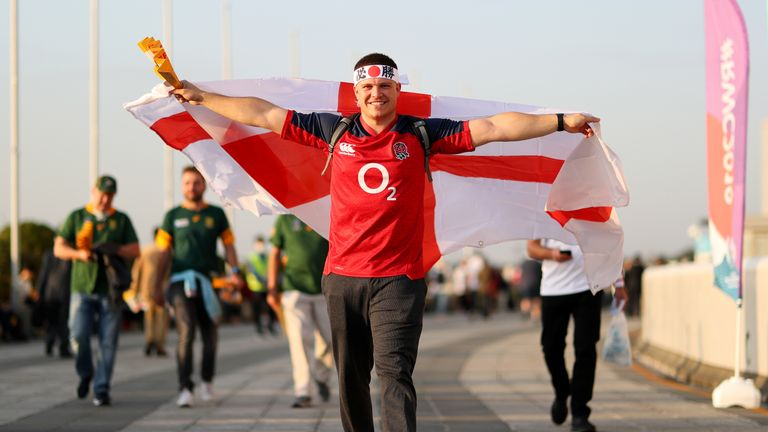 Many of the fans booked flights to Japan after England got through to the final