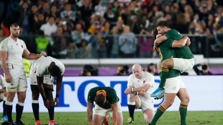 England lost after a nail-biting start to the final
