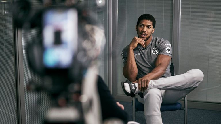 Joshua extended interview | Video | Watch TV Show | Sky Sports