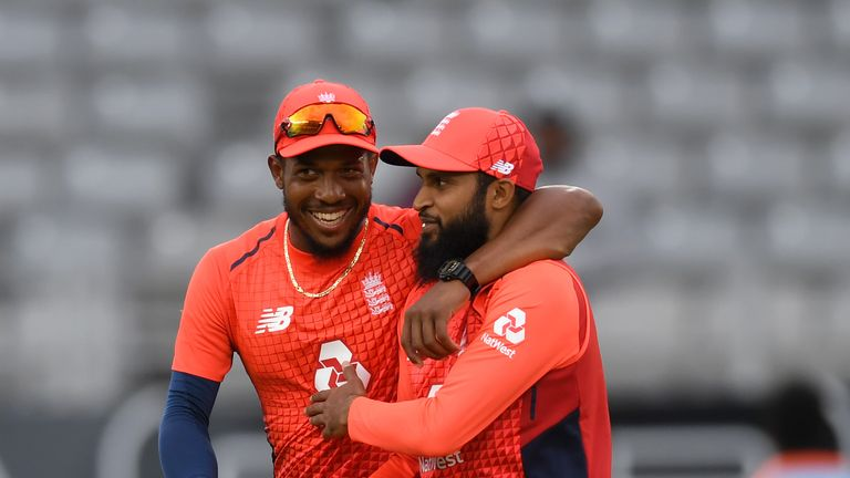 Captain Eoin Morgan hailed Chris Jordan after he held nerve in the Super Over as England beat New Zealand to win the T20I series.