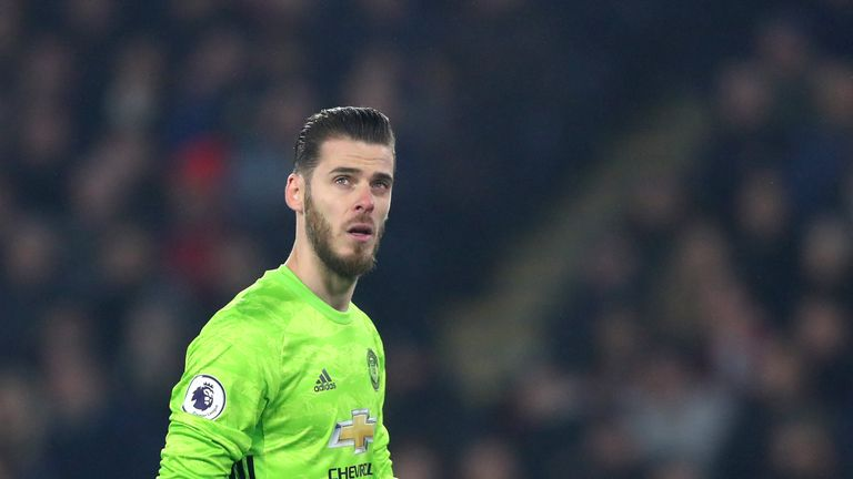 David de Gea says Manchester United's second-half performance against Sheffield United was 'not enough' if they want to win games
