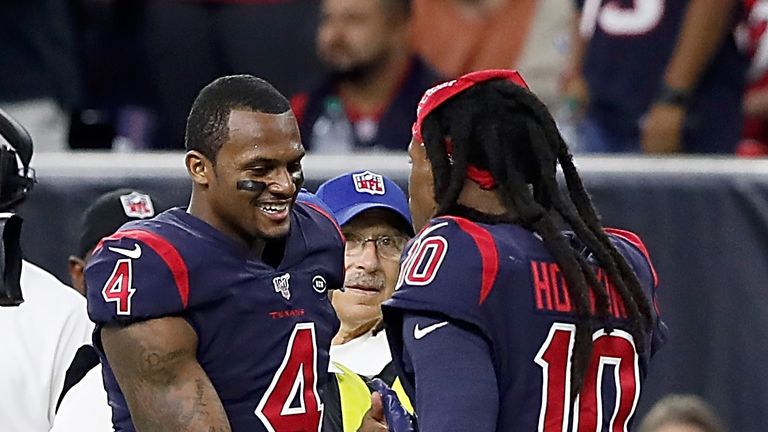 Eric Gordon shocked by trade of Texans receiver DeAndre Hopkins