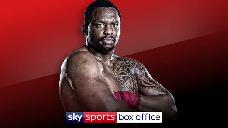 Dillian Whyte has doping charge against him withdrawn