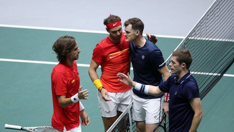 Jamie Murray says Great Britain's defeat by Spain in the deciding doubles rubber of their Davis Cup semi-final will take a while to get over