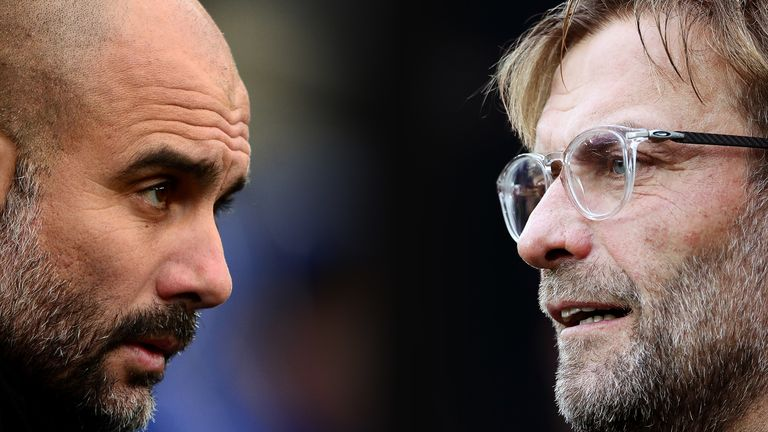Klopp says Liverpool's rivalry with Man City seems to be getting bigger and bigger ahead of their meeting at Anfield on Sunday