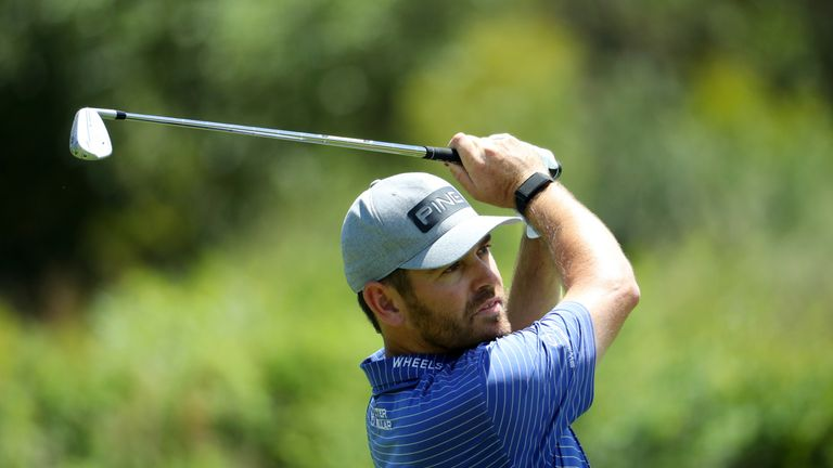Zander Lombard holds lead at Nedbank Challenge