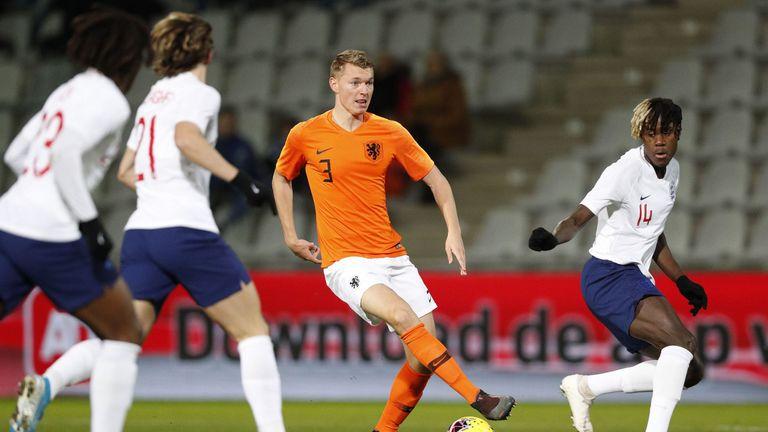 Netherlands U21s vs England U21s