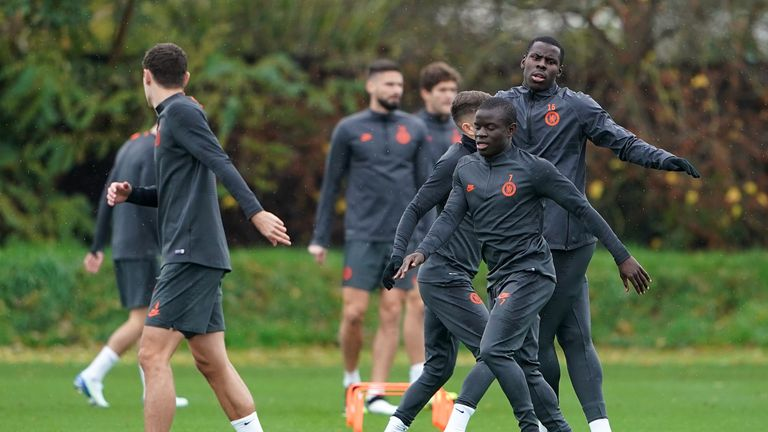 Lampard confirms Kante's return to Chelsea squad for Ajax clash