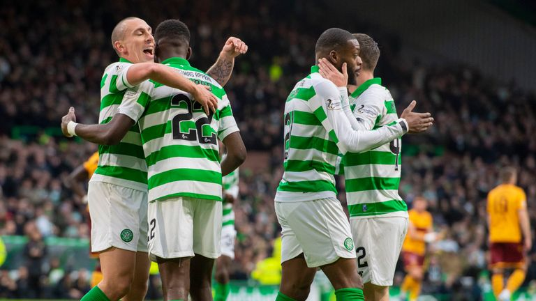 Highlights of Celtic's 2-0 win over Motherwell in the Scottish Premiership on Sunday
