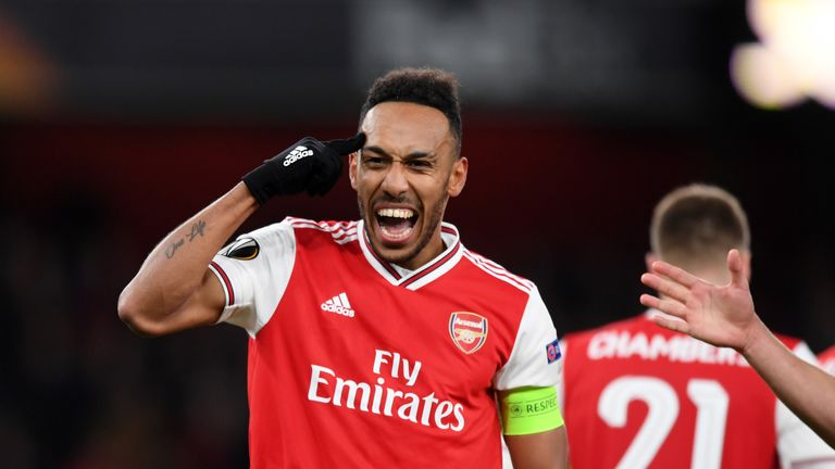 Paul Merson says Arsenal can't afford to let Pierre-Emerick Aubameyang leave