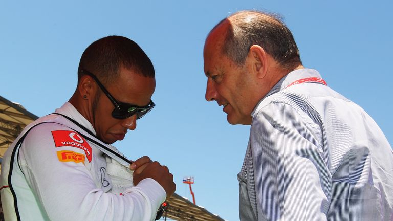 Former McLaren chief Ron Dennis says six-time F1 world champion Lewis Hamilton will 'never forget' the help and support he received on his route to the top