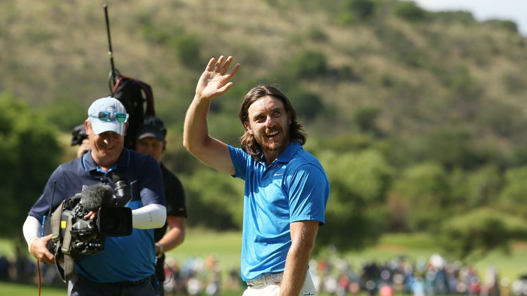 Sun shines for Fleetwood in Nedbank Golf Challenge