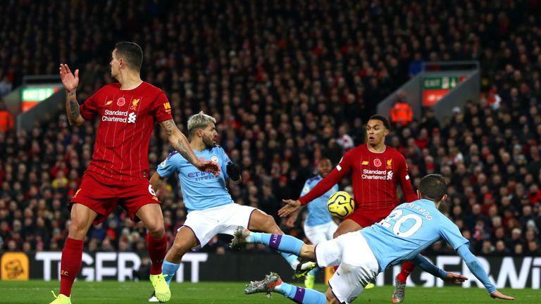 VAR rules no handball by Alexander-Arnold | Video | Watch TV Show - Sky Sports