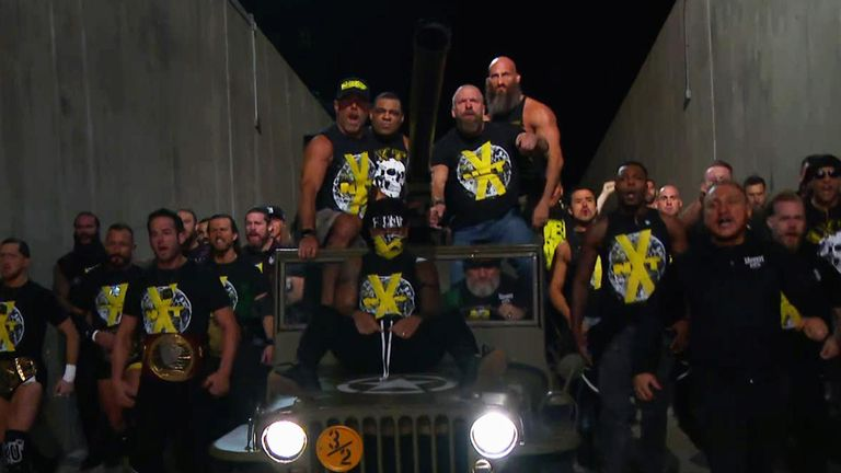 Triple H Reacts to WWE NXT Title Match at Survivor Series