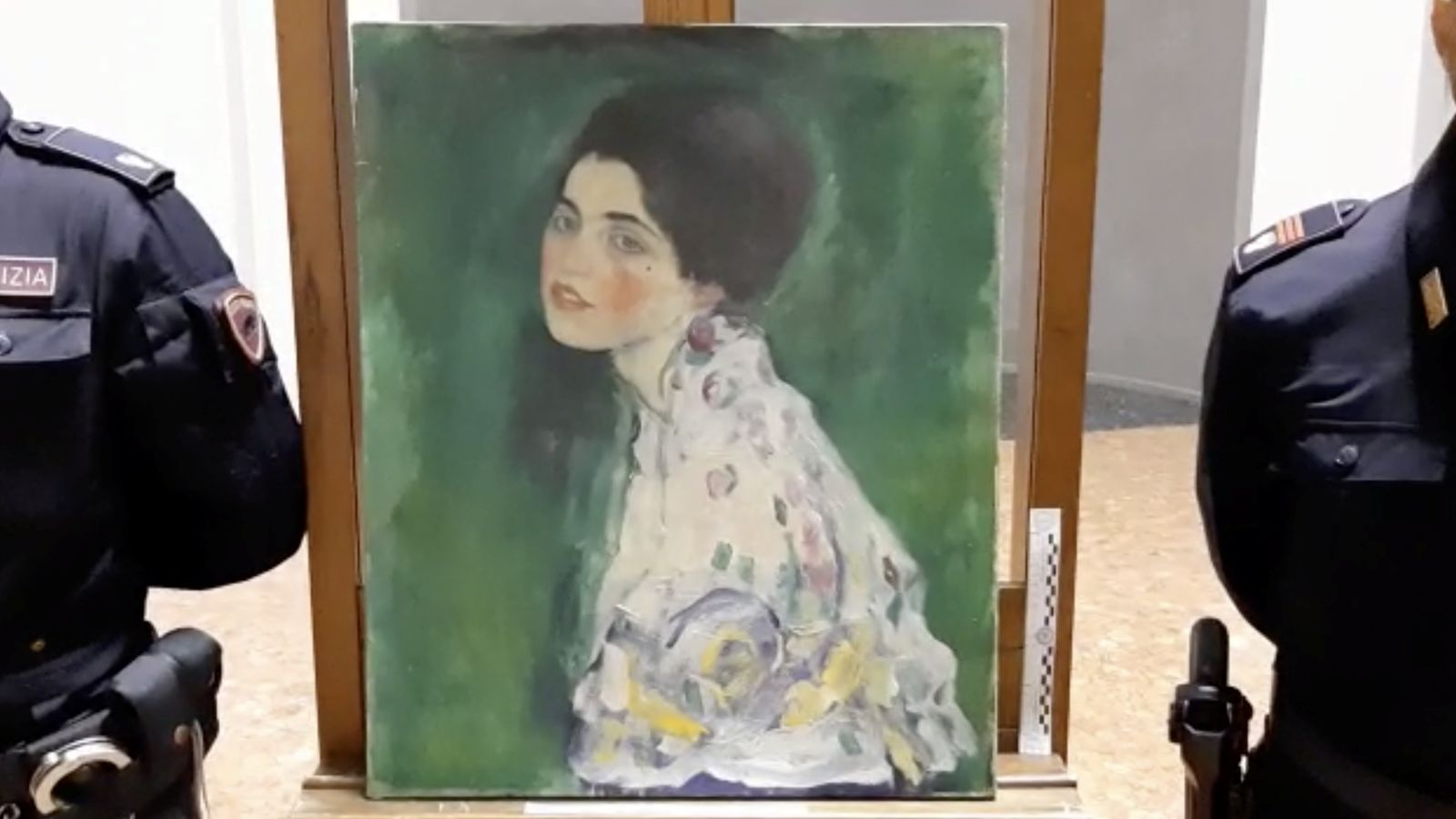 Gallery gardener may have solved mystery of stolen Klimt painting