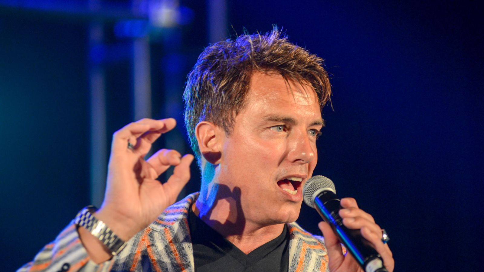 John Barrowman rushed to hospital with severe neck injury