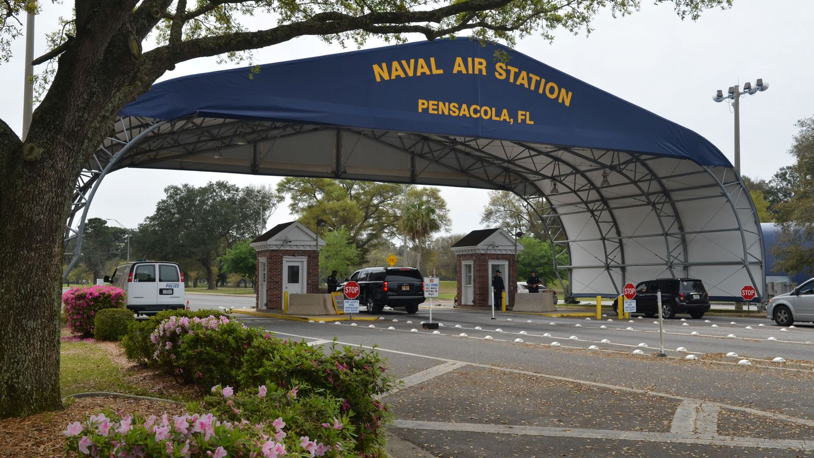 Four dead, several injured as gunman opens fire at navy base