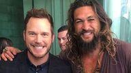 Chris Pratt and Jason Momoa. Pic. Instagram/@prideofgypsies