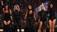 The Pussycat Dolls perform on the X Factor