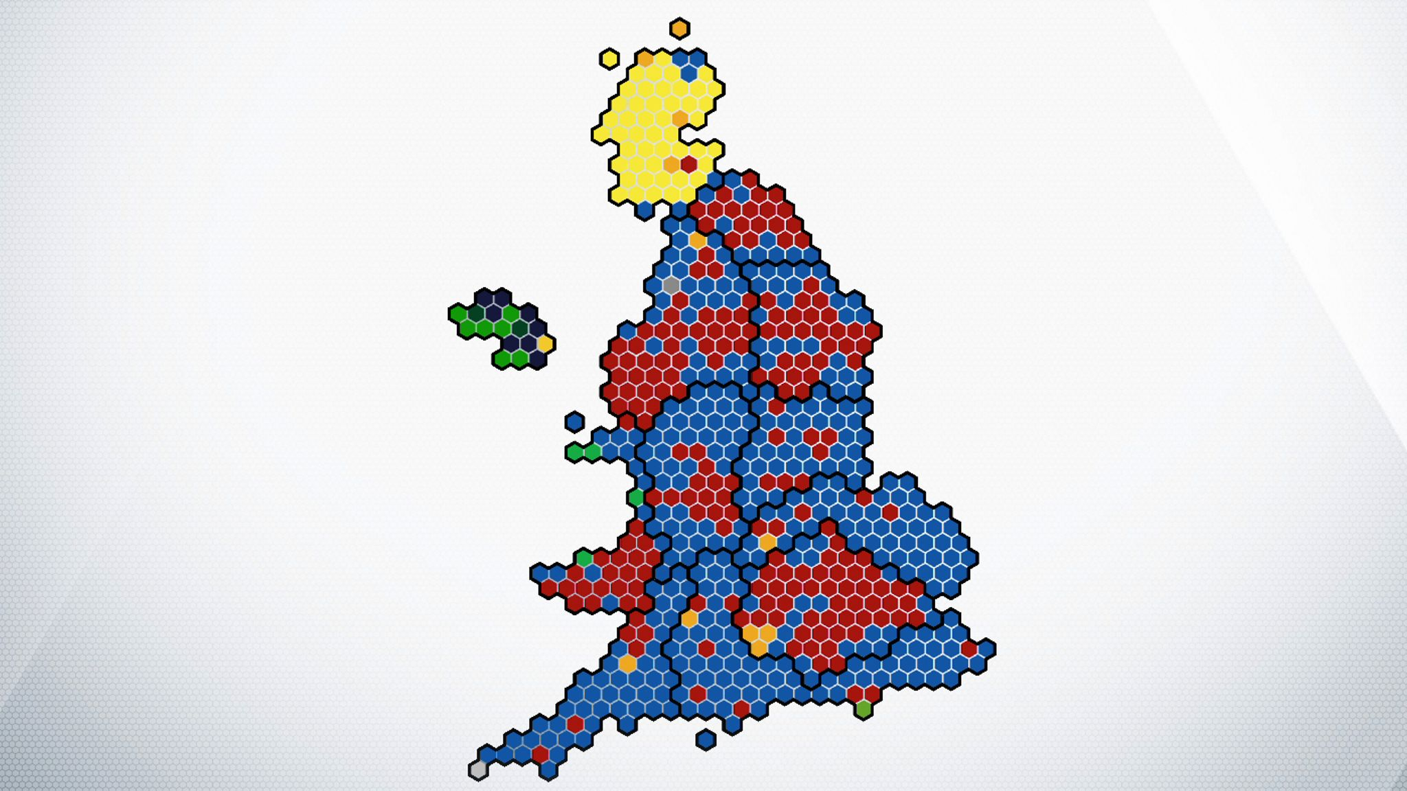 General election: The map of British politics has been redrawn