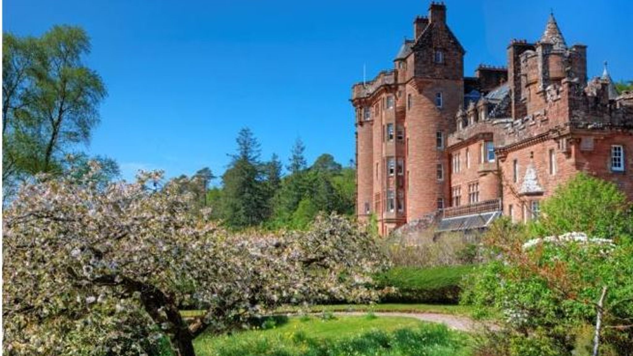 Revealed: Castle and footballer's mansion among the most-viewed homes for sale