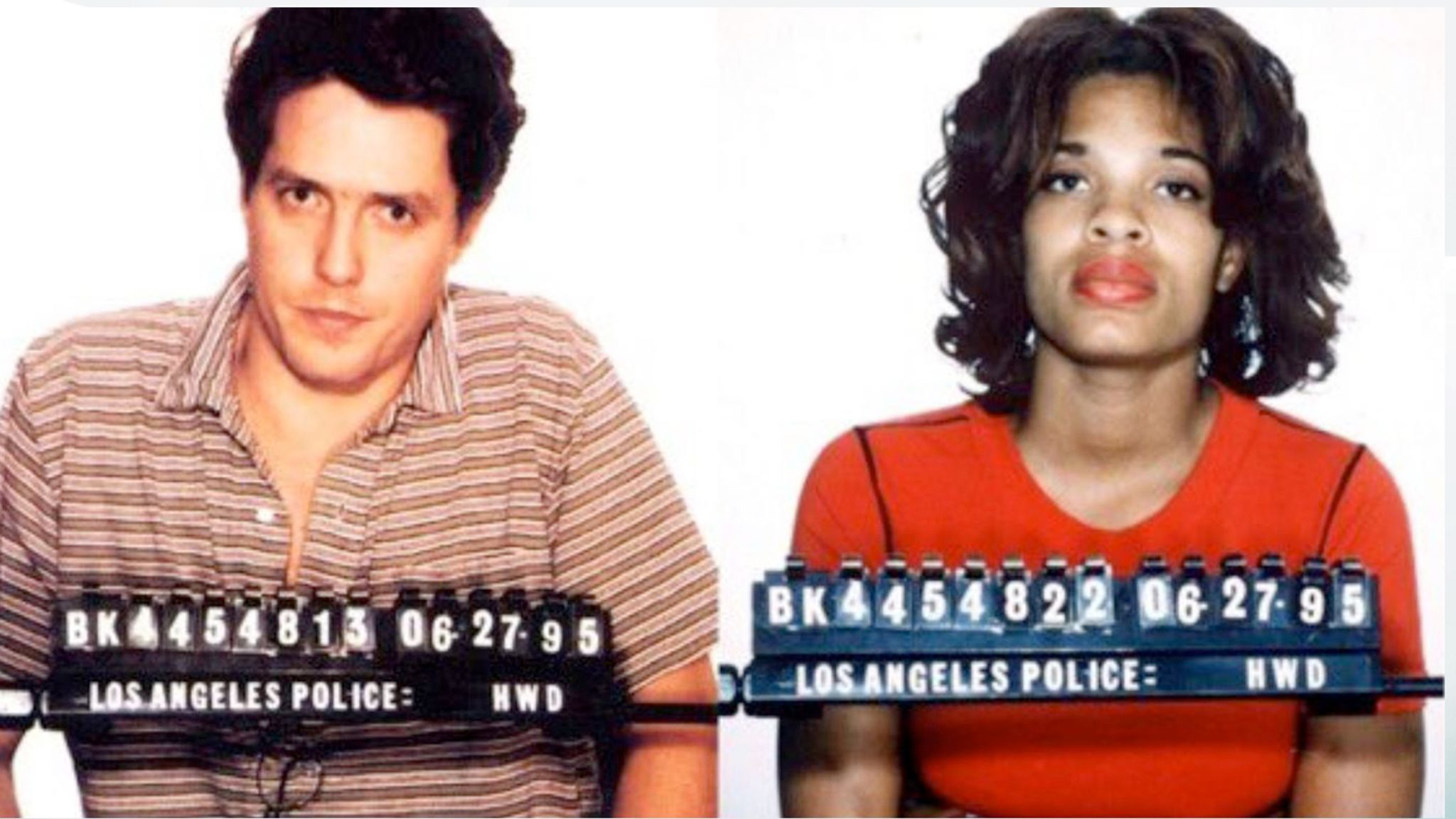 Hugh Grant tweets infamous mugshot after criticism over political flexibility