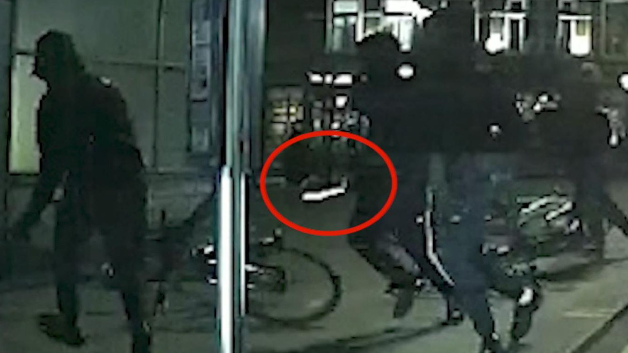 CCTV shows 'postcode rivalry' murder gang brandishing sword and knives