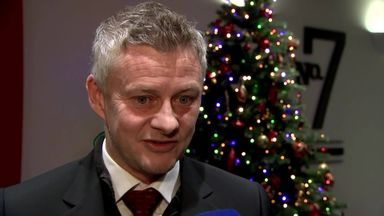 Ole 'not partying' after recent wins