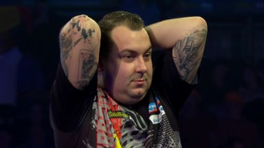 Huybrechts shocks Cross