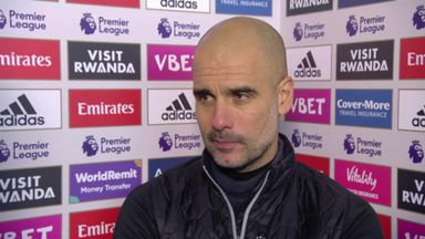 Pep happy with City's reaction