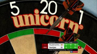 Nentjes' big 111 finish