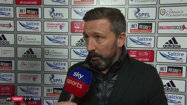 McInnes hails Aberdeen for Rangers draw