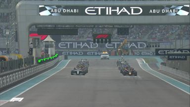 Abu Dhabi: First lap action!