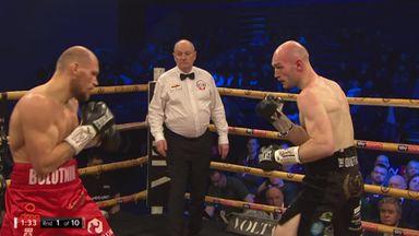Bolotniks gets first round KO!