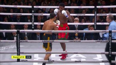 Hooker's 1st round KO!
