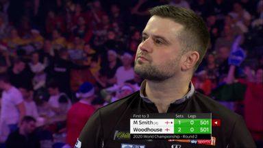 Woodhouse misses six match darts!