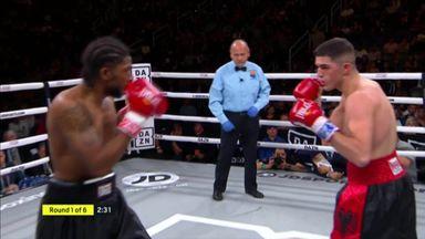 1st round KO for Mati
