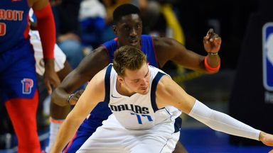 NBA Wk8: Mavericks 122-111 Pistons