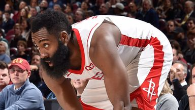 Harden hangs 55 points on Cavs