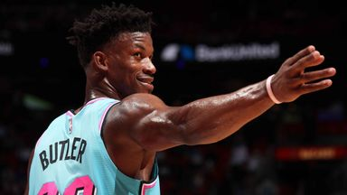 Butler does it all as Heat thump Wizards