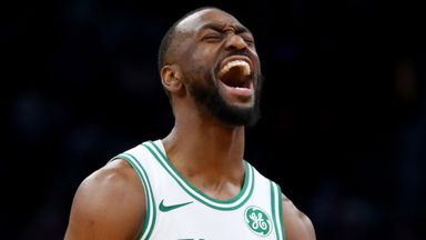 Kemba hits six threes in Celtics win