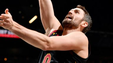 Love leads Cavs past Spurs in OT