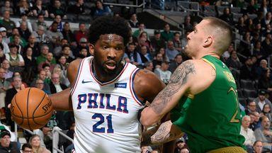 NBA Wk8: 76ers 115-109 Celtics